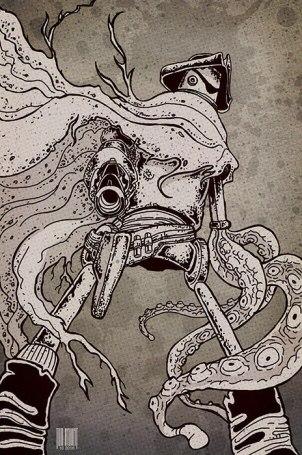 will haun; william haun; weird weird west; NPRS; ninja pirate robot squid; WWW